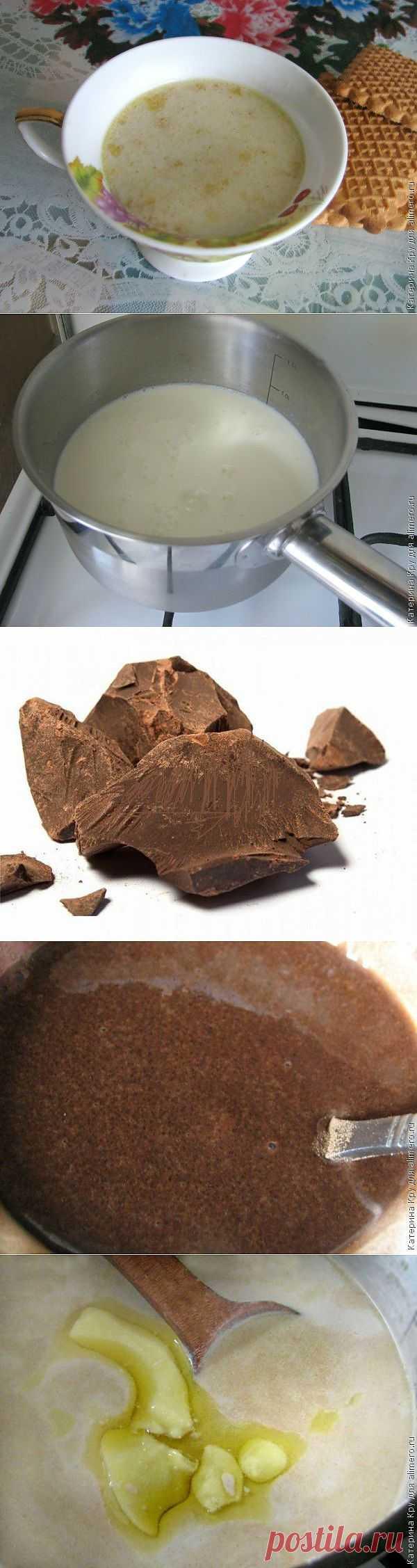Шоколадный напиток от кашля