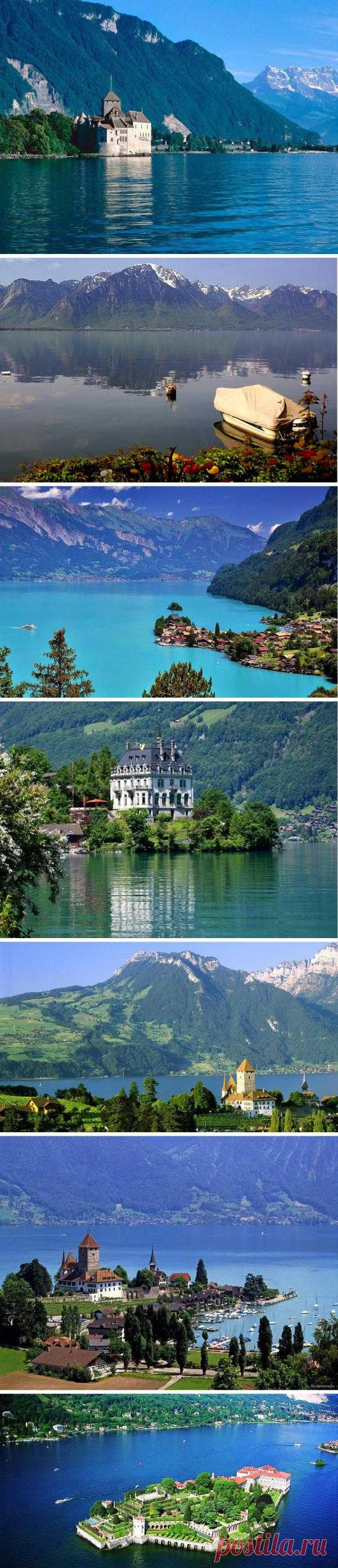 Switzerland - the country of lakes on which rest was always considered not only useful, but also very prestigious. In Switzerland there are about 200 lakes and each of them is a wonderful corner, fantastic creation of the nature which visit is remembered for a long time