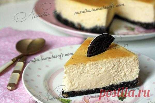 Cheesecake Oreo - Чизкейк Орео | Natalia