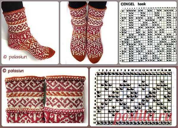 вязание джурабов утепляем ноги модными вещами вязание крючком