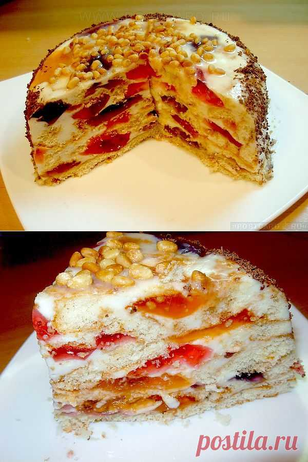 """Торт """"Битое стекло"""" Автор: kivel"""