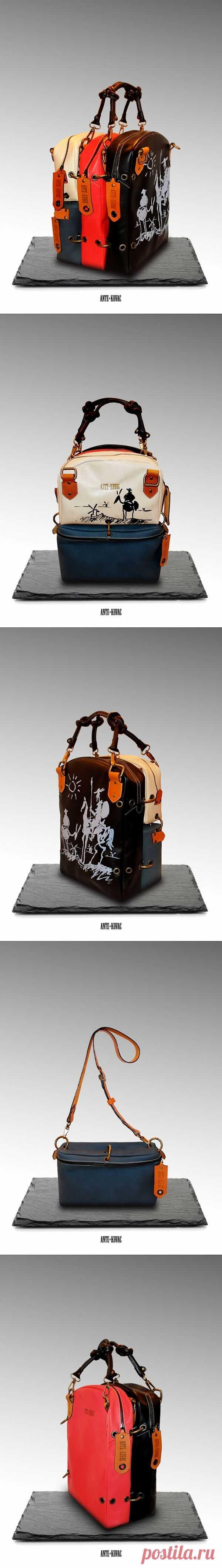 Сумка-трансформер / Сумки, клатчи, чемоданы / Модный сайт о стильной переделке одежды и интерьера