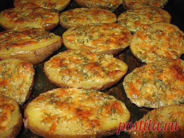 Блоги@Mail.Ru: Чесночная картошечка - быстро и вкусно!