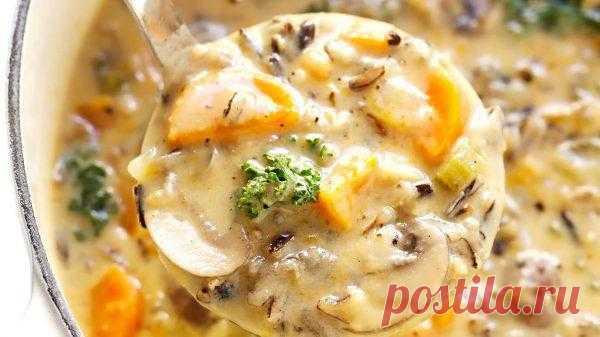 Бархатный грибной суп из сушеных грибов | Вся фишка в секретном ингредиенте! | Вкусные кулинарные рецепты