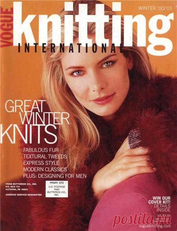 Vogue Knitting International - Winter 2000/2001 (вязание спицами).