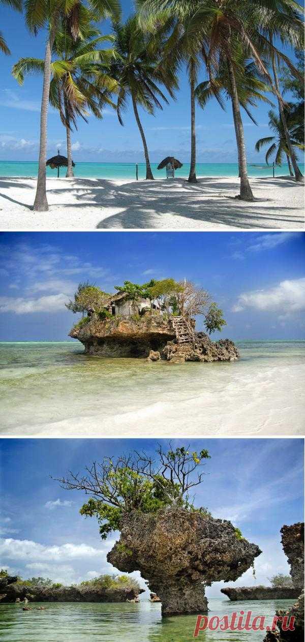 Тропический остров рядом с экватором. Практически незатронутая цивилизацией девственная природа, плавный темп жизни, вписывающиеся в тропический пейзаж отели и клубы – чем не райский уголок? Занзибар, Танзания