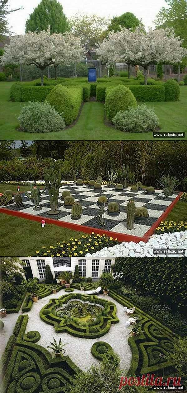 Необычные идеи для вашего сада.