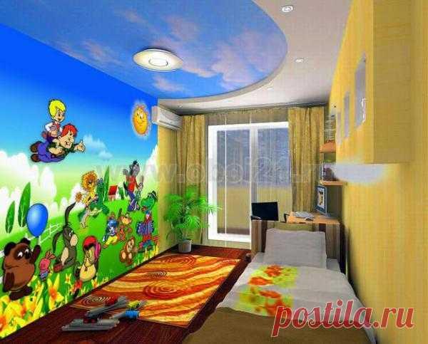 Украшайте комнату для вашего ребенка оригинальными идеями.