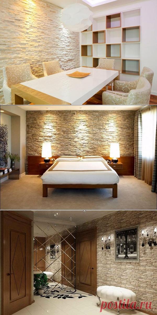 Камень для отделки квартиры — Роскошь и уют