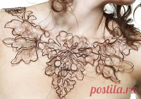 Украшения из волос / Украшения и бижутерия / Модный сайт о стильной переделке одежды и интерьера