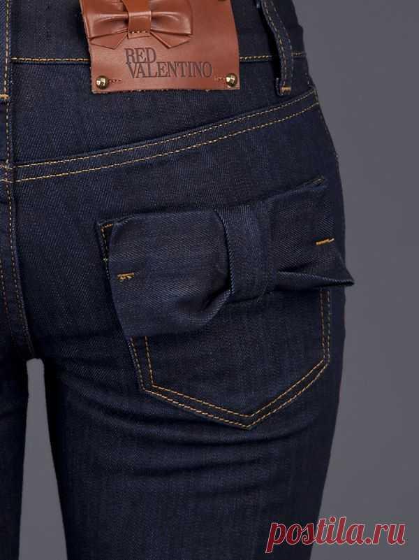 Джинсы Red Valentino / Джинсы / Модный сайт о стильной переделке одежды и интерьера