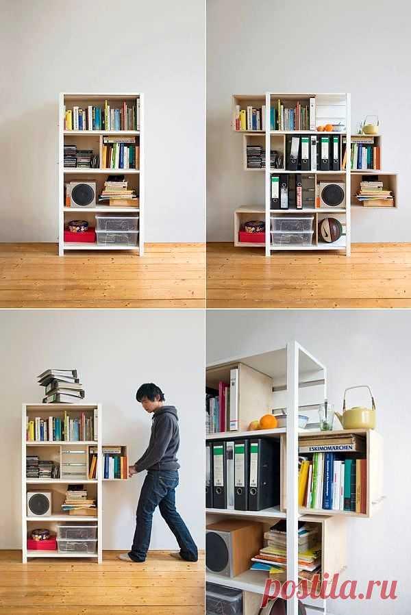 Стеллаж коробок! / Мебель / Модный сайт о стильной переделке одежды и интерьера
