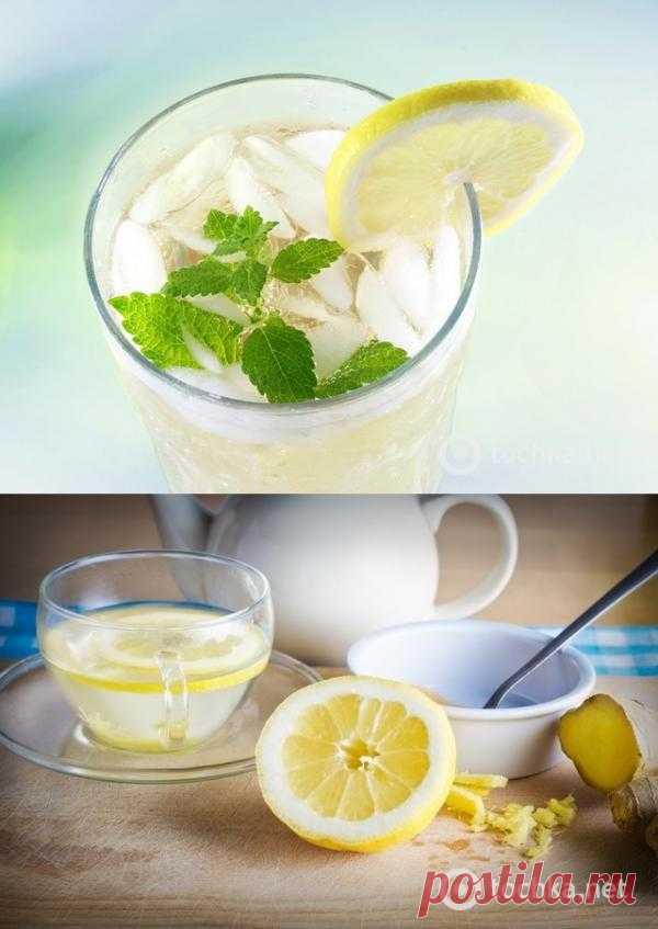 Напитки: имбирный эль