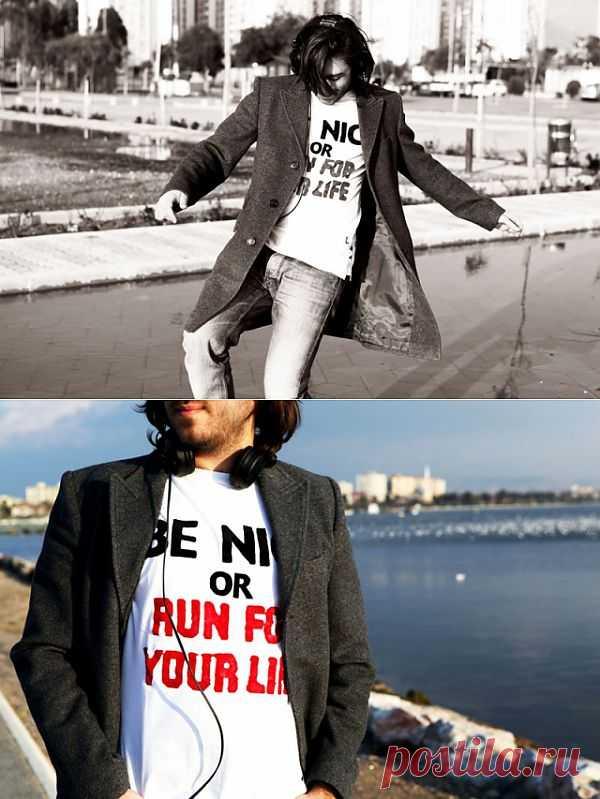 Игра слов на футболке / Рисунки и надписи / Модный сайт о стильной переделке одежды и интерьера