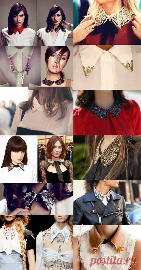 Тренд сезона: модные воротнички