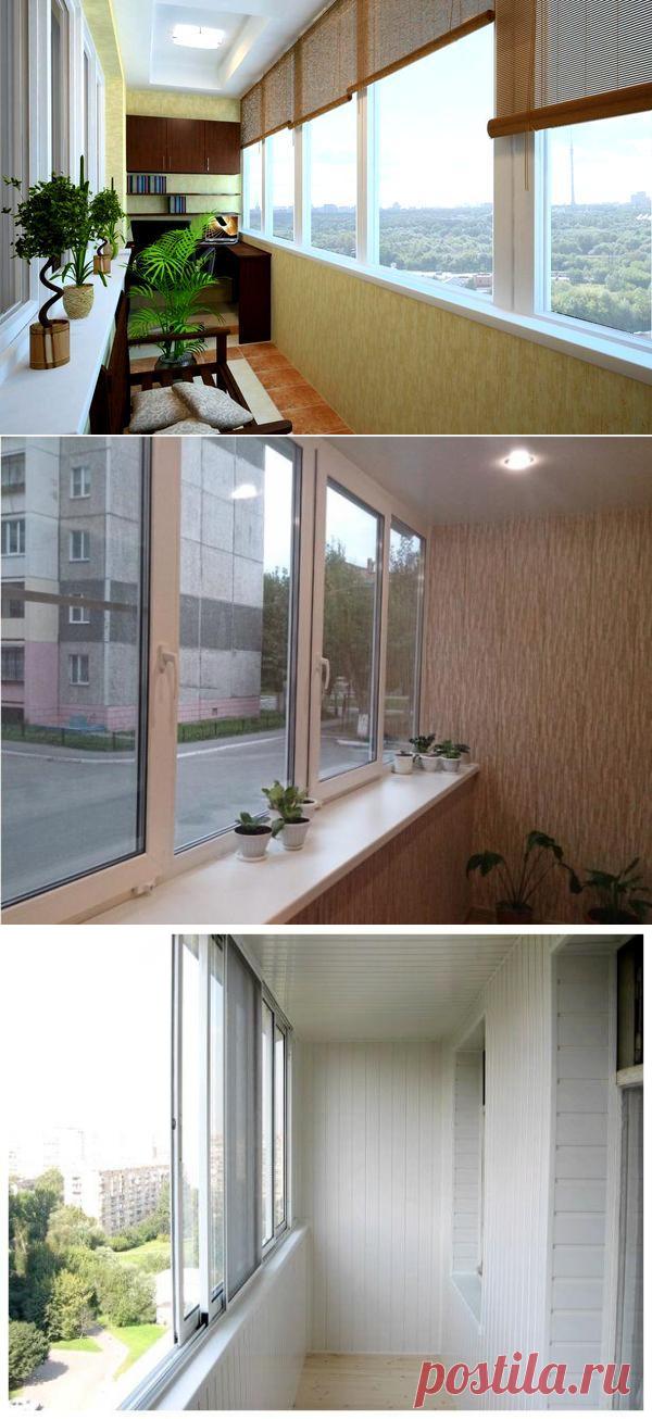 Варианты остекления балконов и лоджий - Пластик или Дерево?