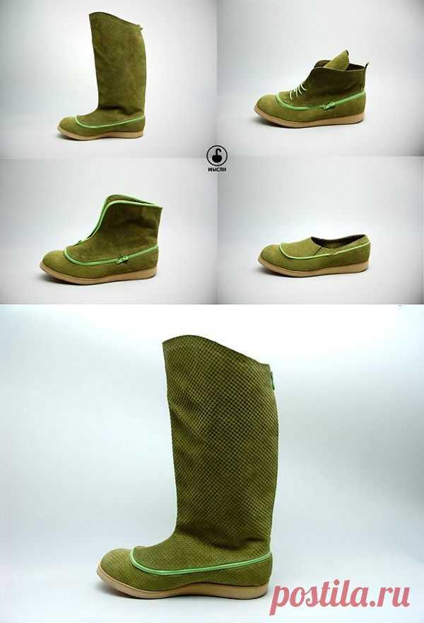 Хамелеон / Обувь / Модный сайт о стильной переделке одежды и интерьера