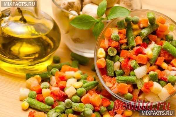 Что можно замораживать на зиму в морозилке из овощей, фруктов и зелени?