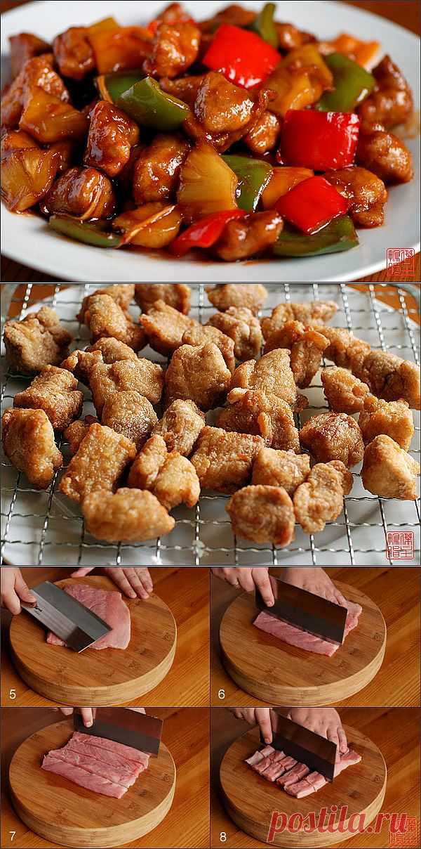 Это популярное блюдо вам подадут в любом ресторане китайской кухни за пределами Китая и во многих ресторанах Поднебесной, особенно, если этот ресторан кантонский.
