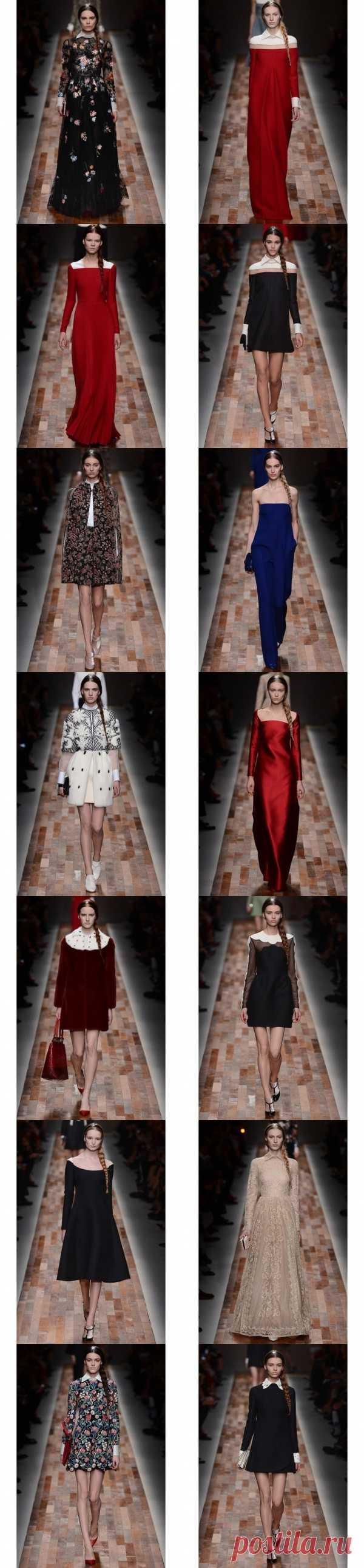 La semana de la moda en París: Valentino el otoño-invierno 2013-2014