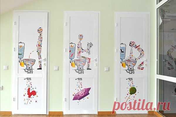 Secret door / Ванна / Модный сайт о стильной переделке одежды и интерьера