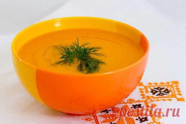 Суп-пюре «Оранжевое настроение». (Рецепт по клику на картинку).