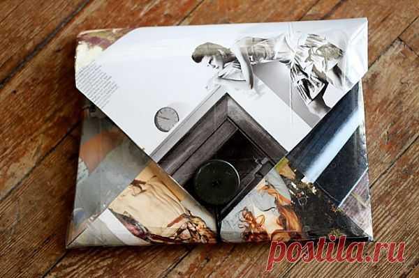 Клатч из любимых картинок (мастер-класс) / Сумки, клатчи, чемоданы / Модный сайт о стильной переделке одежды и интерьера
