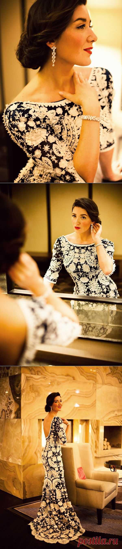 Платье-мечта от Оскара де ла Рента / Вещь / Модный сайт о стильной переделке одежды и интерьера