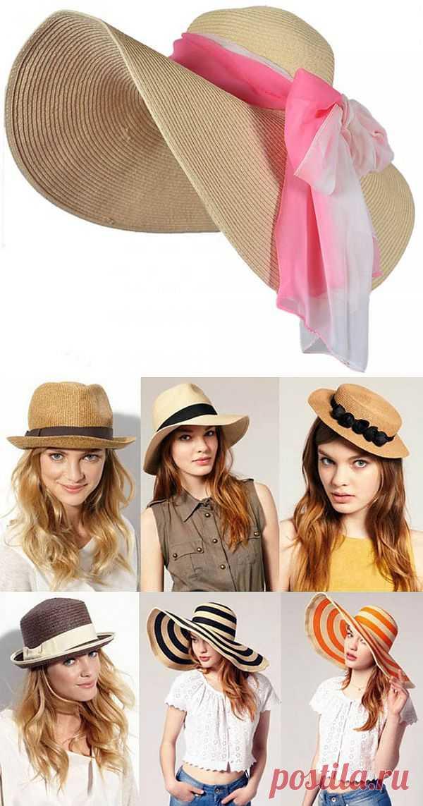 Соломенная шляпка. Аксессуар, незаменимый летом