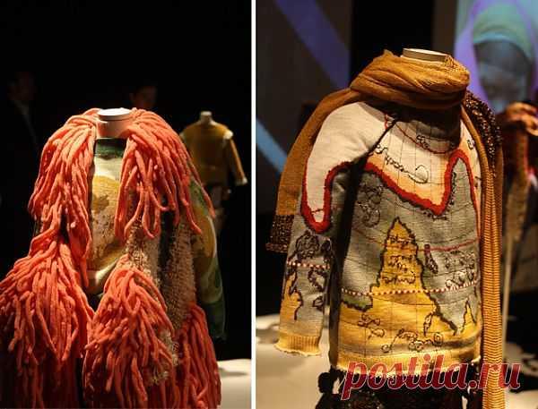 Вязаный глобус / Вязание / Модный сайт о стильной переделке одежды и интерьера