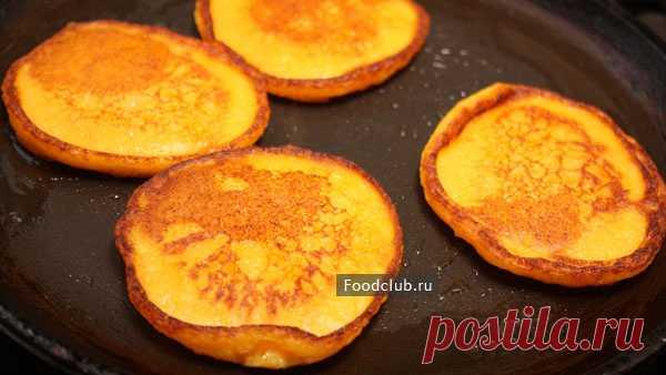 Тыквенные оладьи — рецепт с пошаговыми фотографиями на Foodclub.ru
