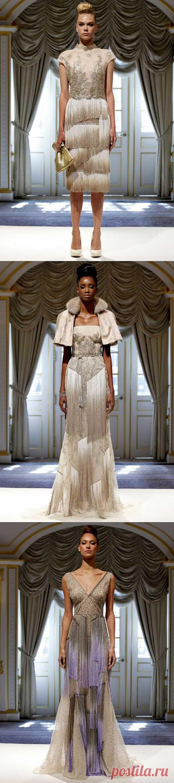 Бахрома на платье или юбке / Декор / Модный сайт о стильной переделке одежды и интерьера