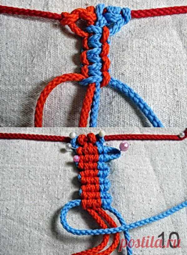 Макраме: базовые узлы - Ярмарка Мастеров - ручная работа, handmade