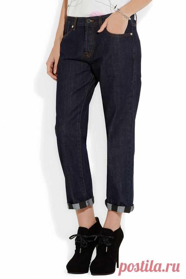Отвороты на джинсах Marni / Переделка джинсов / Модный сайт о стильной переделке одежды и интерьера