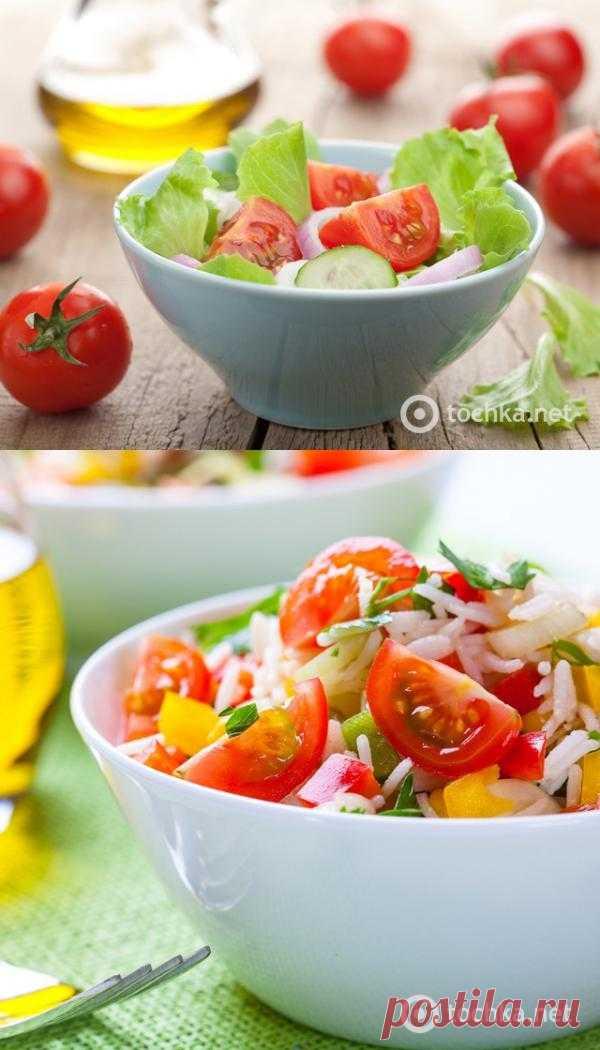 Овощной салат с семгой и редисом