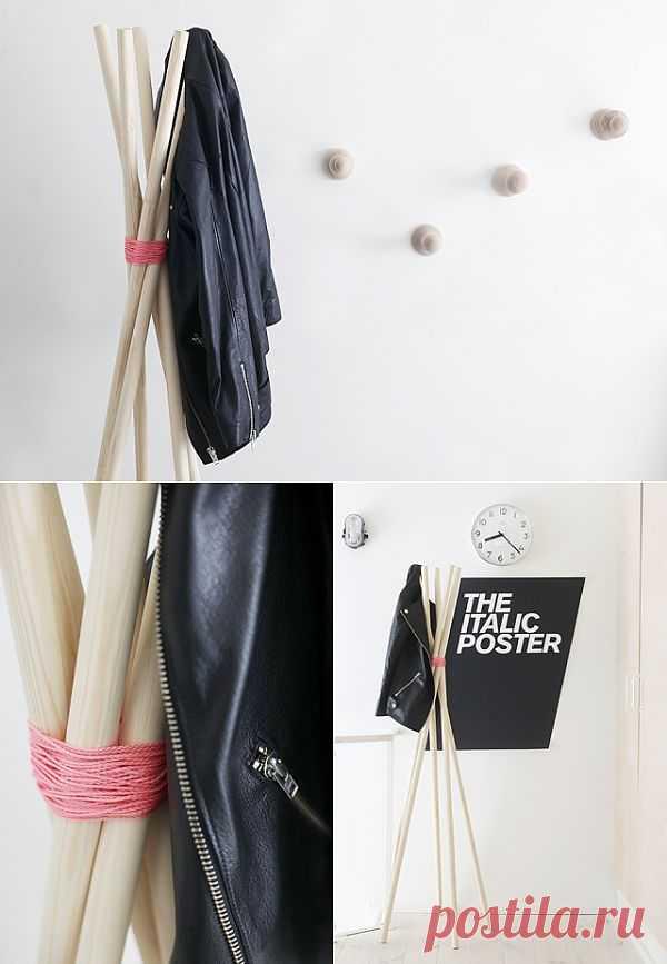 Быстро-вешалка / Организованное хранение / Модный сайт о стильной переделке одежды и интерьера