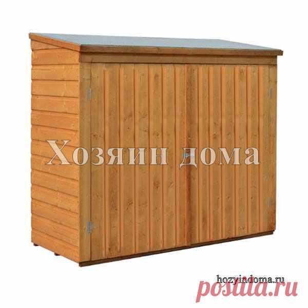Уличный ящик для хранения инструмента, садовых материалов или принадлежностей для мангала.