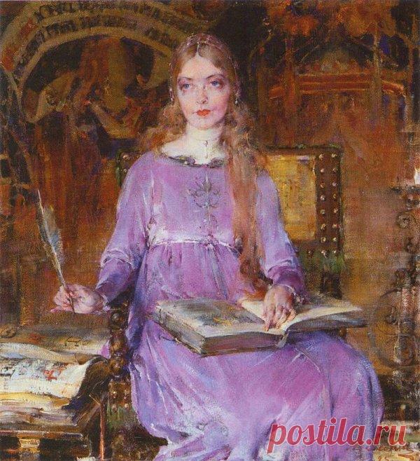 Портрет Лилиан Гиш в роли Ромолы