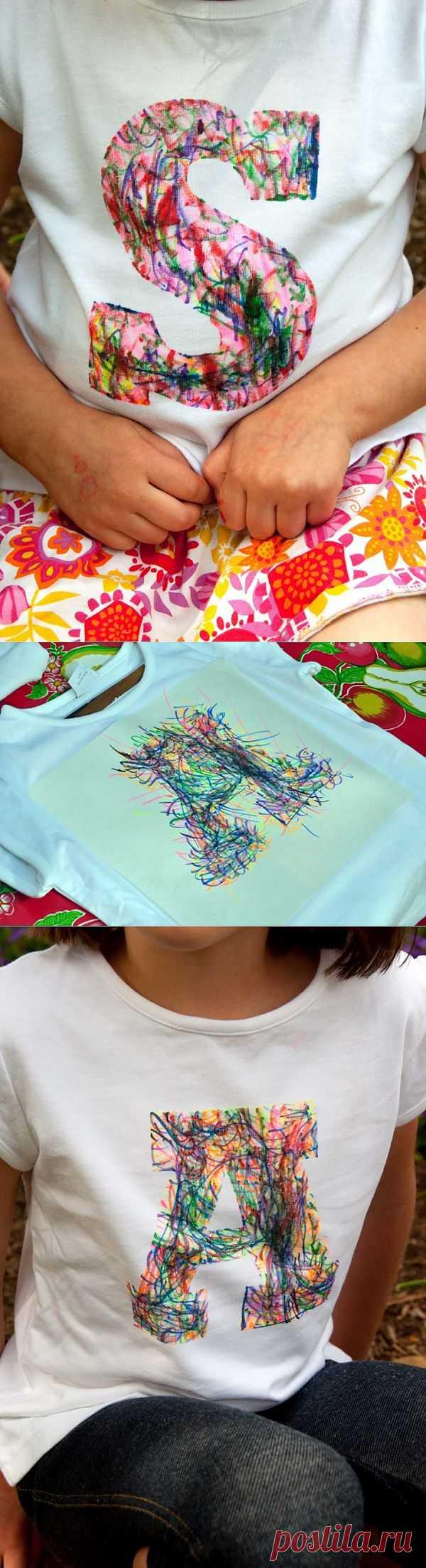 Рисунки для детей (DIY) / Рисунки и надписи / Модный сайт о стильной переделке одежды и интерьера