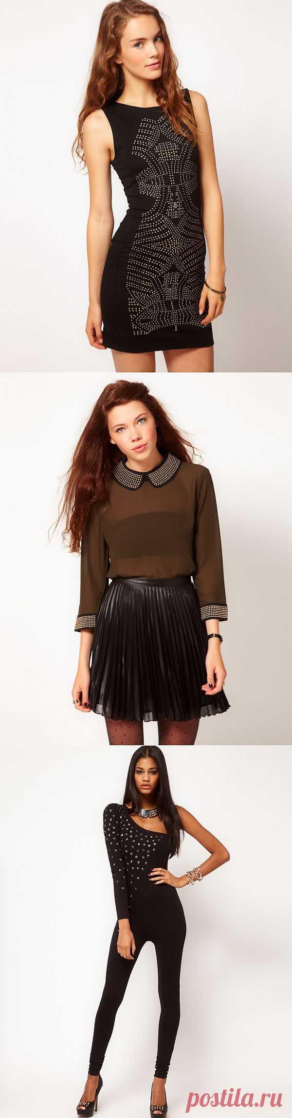 Клепаный ASOS и TOPSHOP (трафик, подборка) / Декор / Модный сайт о стильной переделке одежды и интерьера