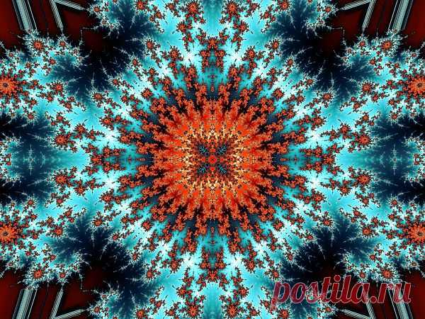Fractal Kaleidoscope  Free Stock Photo HD - Public Domain Pictures