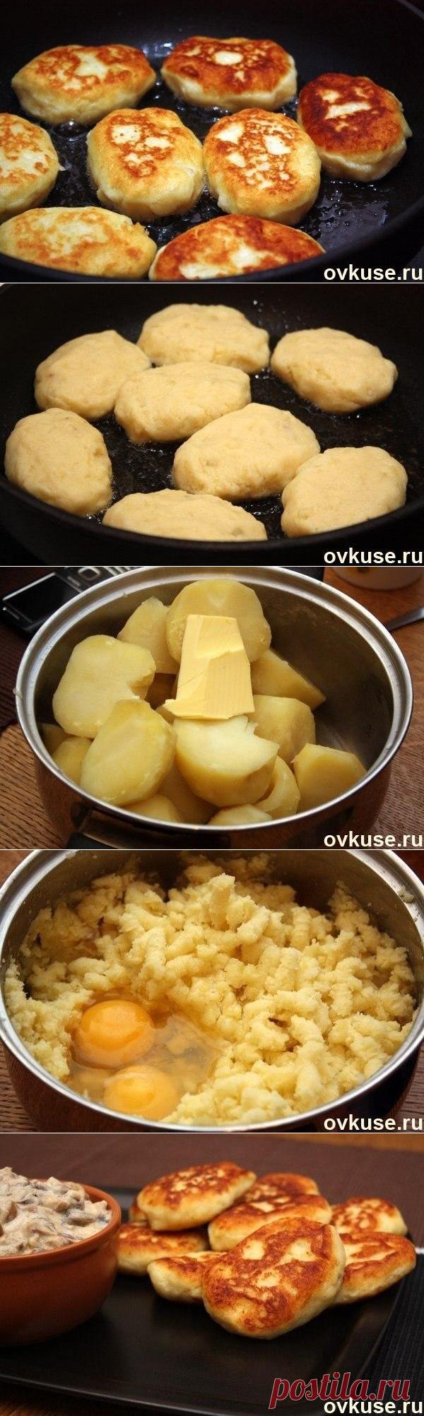 Potato patties - Simple recipes of Овкусе.ру