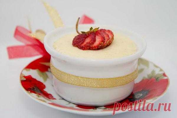 Baked puddings: A cottage cheese pudding with banana
