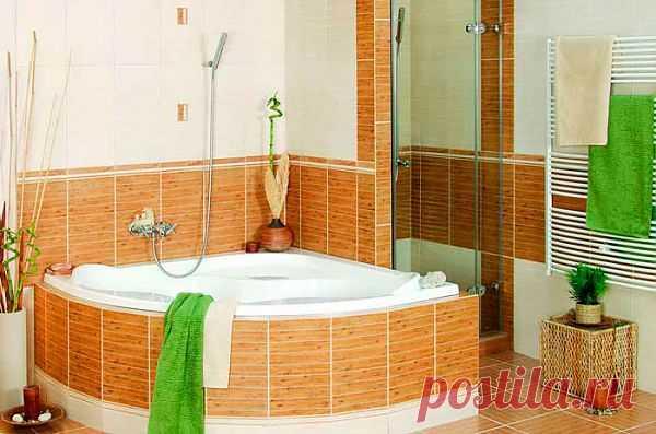 Бюджетный декор ванной комнаты – 5 практичных советов | Господарка.Ru