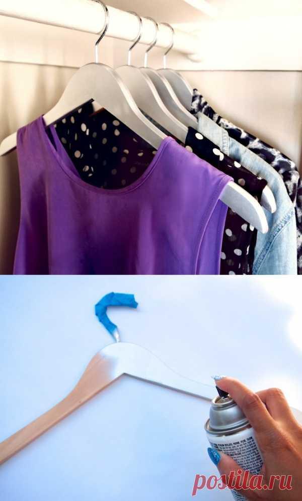 Стильному гардеробу- стильные вешалки!