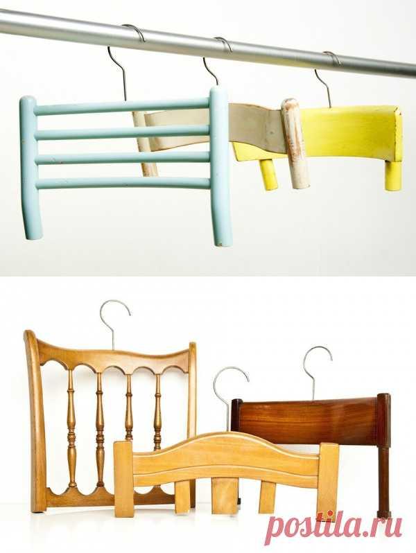 Вешалки из стульев