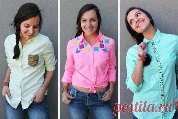 Три идеи для переделки сорочек