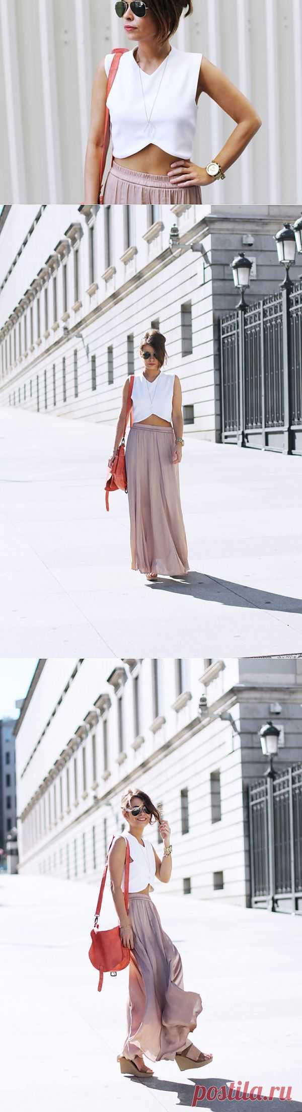 Топ с фигурным низом / Детали / Модный сайт о стильной переделке одежды и интерьера