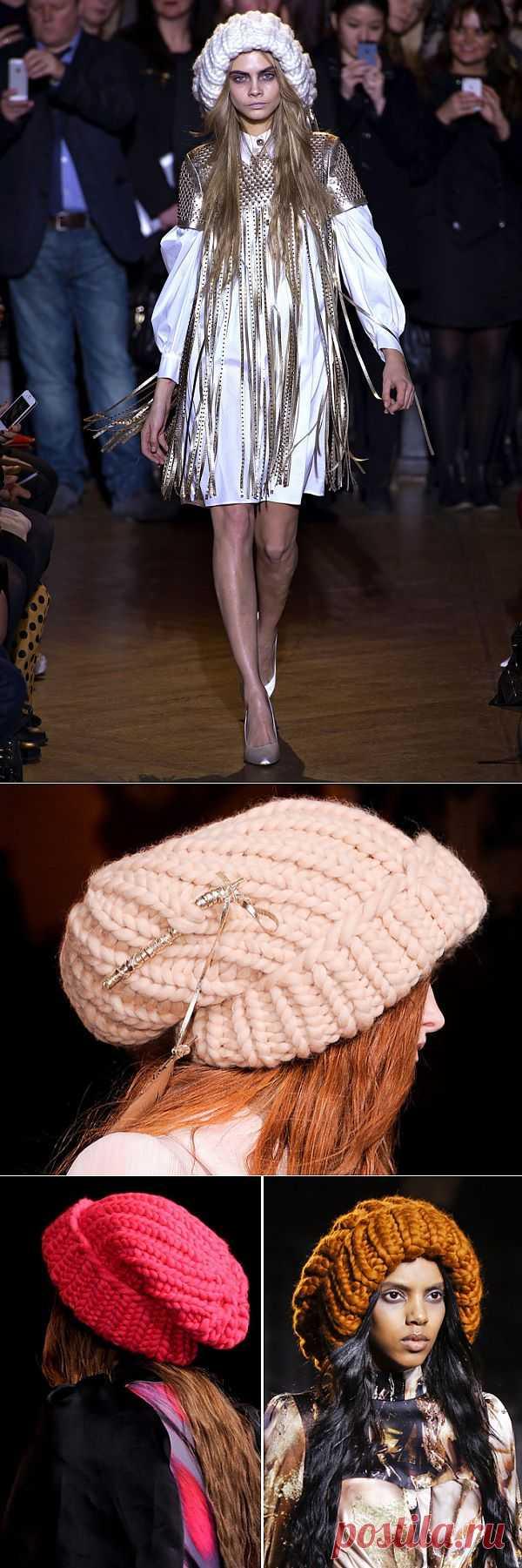 Мега-шапки Giles Deacon (трафик) / Детали / Модный сайт о стильной переделке одежды и интерьера