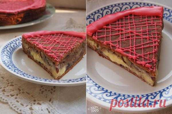 Картофельный торт.